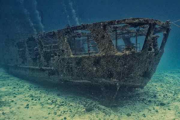 C55 Shipwreck Stern