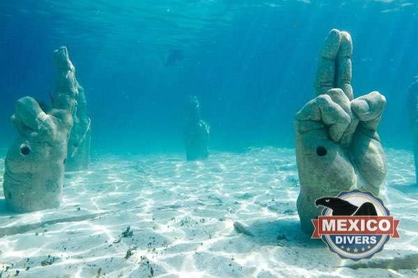 Underwater Museum at el Meco Reef